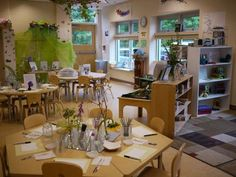 Nature inspired classrooms