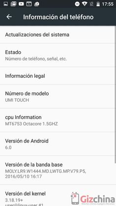 Mola: Review del UMi Touch en español