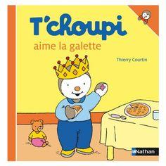 Livre T'choupi aime la galette Nathan - Magasin de Jouets pour Enfants