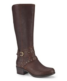 Take a look at this Chocolate Esplanade Boot - Women on zulily today!