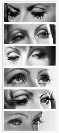 #Greta #Garbo eyes
