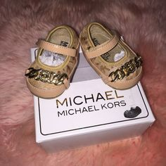 Look what I found while shopping on Totspot, the resale shopping app for kids' clothes.   Michael Kors shoes Michael Kors   Love this! #kidsfashion