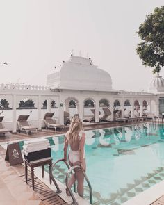 For this list I will only go over the most unique hotels in the world that I have already stayed at. Otherwise I wouldn't be able to give my honest opinion! Jaipur Travel, India Travel, Bali Travel, Africa Travel, Unique Hotels, Best Hotels, Luxury Hotels, Travel Destinations In India, Outside Pool