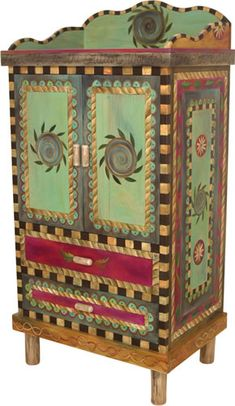 Mexican Painted Furniture | painted furniture