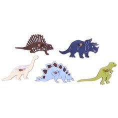 @rosenberryrooms is offering $20 OFF your purchase! Share the news and save!  Dinosaur Wall Pegs - Set of 5 #rosenberryrooms