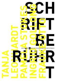 Uwe Loesch, Schrift beruehrt, 2007