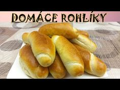Domáce mäkkučké rohlíky - Var a peč s Martinkou - YouTube Hot Dog Buns, Hot Dogs, Hamburger, Bread, Food, Youtube, Brot, Essen, Baking