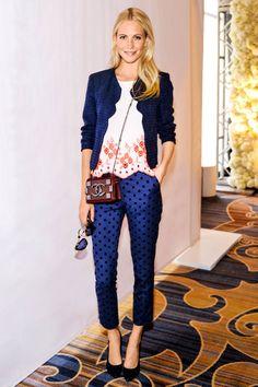 Poppy Delevingne in polka dots pants. Poppy Delevingne, Paola Style, Star Fashion, Fashion Trends, Women's Fashion, Tokyo Fashion, French Fashion, Street Fashion, Street Style
