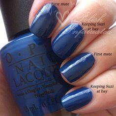Blue polishes on Pinterest | OPI, China Glaze and Essie