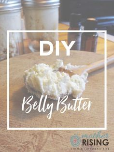 Step by step instructions on how to make an all natural pregnancy belly butter that will soothe stretched skin with essential oils for a therapeutic benefit.