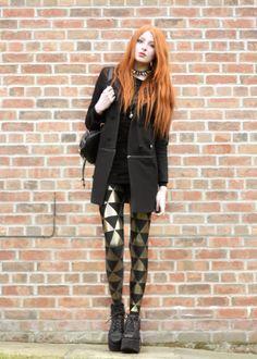 Olivia Emily - UK Fashion Blog.: Triforce Leggings.