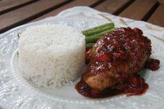 Balsamic Strawberry Chicken using a SousVide Supreme