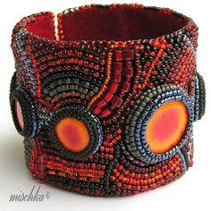 Dragon Eyes II Bracelet by mischka.anna, via Flickr