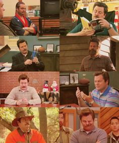 Ron Swanson, Parks and Recreation