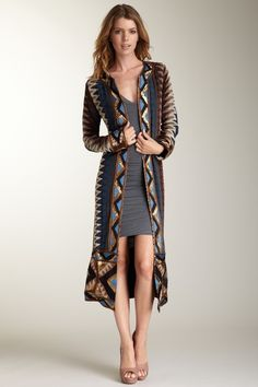 Haute Hippie 'King & I' cloak-starting to get into these duster type cloaks O.o