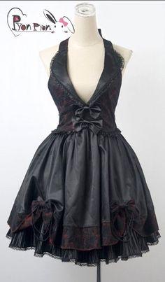 Gothic dress Bademode, Damen, Kleidung, Gothic Lolita Moda, Viktorianische  Mode, Punk c0c6b5ceb1