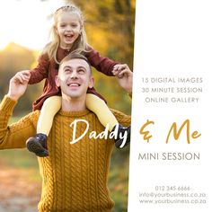 Instagram Post Template Instagram Post Template, Image 30, Online Gallery, Digital Image, Photo Sessions, Daddy, Photoshoot, Templates, Couple Photos