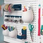 Pegboard Organization Ikea ideas for the craft room Sewing Room Organization, Office Organization, Organizing, Organized Office, Ideas Para Organizar, Craft Storage, Pegboard Storage, Storage Ideas, Ikea Pegboard