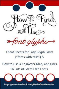 Fields Of Heather: My Favorite Fonts & How to Use them (Cheat Sheets) Silhouette Fonts, Silhouette Cameo Tutorials, Silhouette School, Silhouette Projects, Cricut Fonts, Cricut Vinyl, Cricut Air, Fancy Fonts, Cool Fonts