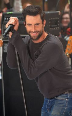 Adam Levine is very nice to look at :)
