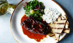 Braised Lamb Shoulder With Fennel And Orange | Bon Appétit | Lamb shoulder has great fat content and rich (not gamey) flavor, which makes it ideal for this sweetly spiced, Mediterranean-inspired braise.