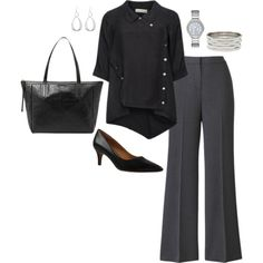 Plus Size Work Outfit, Plus Size Career Fashion