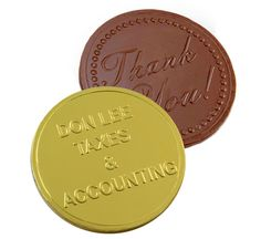 Large Chocolate Coins