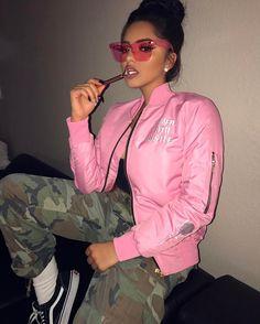"21.5k Likes, 106 Comments - Karla Jara (@theerealkarlaj) on Instagram: ""KB lit   @armedwithhustle jacket"""