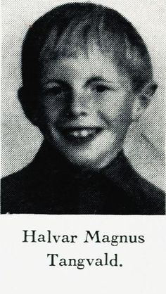 (08/25/1935) Kristiansad, Norway (02/27/1945) played with comrades sadly killed by accidental explosion from a grenade 9 Year Olds, Norway