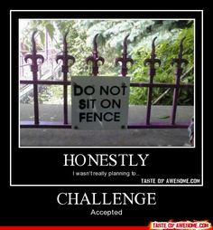 Challenge - - Boring Pics + Epic Captions - Taste of Awesome