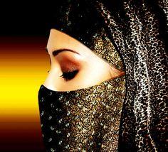 beautiful Niqabi..