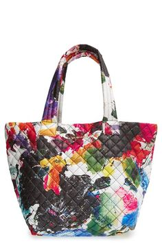 MZ Wallace  Medium Metro - Palette  Quilted Oxford Nylon Tote available at   Nordstrom 1e8ecade2709a