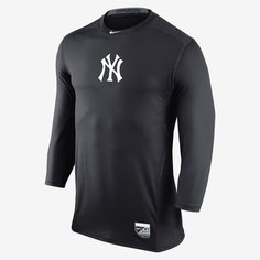 Nike Hypercool Dri-FIT 3 4-Sleeve (MLB Yankees) Men s Shirt. Nike Store d11933c5d44cc