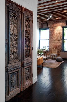 Home Decor | Loft renovation by Reiko Feng Shui Interior Design | Beautiful Doors