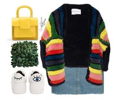 """""""cozybow"""" by s-ensible ❤ liked on Polyvore featuring Betsey Johnson, Topshop, Sonia Rykiel and Bill Blass"""