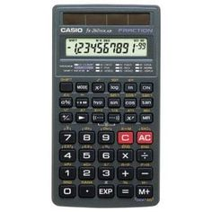 Casio SOLAR Scientific Calculator, Black All purpose scientific calculator offers fraction calculation, trigonometric functions Hard Slide Case Solar Scientific Calculator x Two-Line Display,LCD Please Note: Kindly refer the User Manual before use. Waterproof Fanny Pack, Trigonometric Functions, Solar, Electronic Items, Printer Scanner, Fractions, Calculator, Consumer Electronics, Instagram