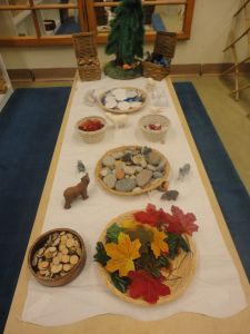 Animals in Winter loose parts provocation
