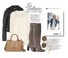 """""""Street Remix for Winter Weather..."""" by hattie4palmerstone ❤ liked on Polyvore featuring Topshop, By Zoé, Valentino, Wildfox, AllSaints, Gucci and Chloé"""