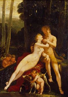 Venus and Adonis Pierre-Paul Prud'hon - 1810-1812 Wallace Collection