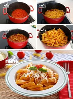 Brewing Pasta Recipe - Delicious Recipes - How to make brew pasta recipe? Illustrated explanation of Brewing Pasta Recipe in the book of people and photographs of those who try here. Pasta Recipes, Chicken Recipes, Dessert Recipes, Italian Chicken Dishes, Homemade Beauty Products, Italian Recipes, Italian Foods, Healthy Recipes, Delicious Recipes