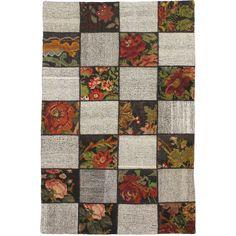 eCarpetGallery Handmade Moldovia /Brown Wool Kilim