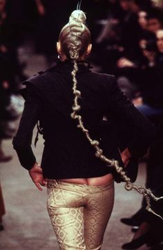 1996-97 - Alexander McQueen show Pants be fab on you