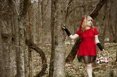The Little Red Riding Dress.... size small.... Red Silk. $295.00, via Etsy - So cute :O!