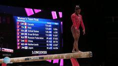 Simone Biles - Balance Beam - 2015 World Championships - Team Final
