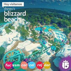 El día lo permite y vamos todos para Disney's Blizzard Beach que abrió sus puertas! A disfrutar de toda la diversión en el agua! #doradoF16 #rojoF16 #celesteF16 #coralF16 #esmeraldaF16 #fucsiaF16 con #enjoy15!