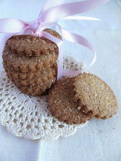 Biscotti al grano saraceno e zucchero di canna / buckwheat and brown sugar cookies