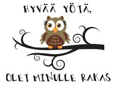 hyvää yötä - Google-haku Love Is Comic, Baby Room, Owl, Comics, Peanuts, Disney Characters, Quotes, Friendship, Life