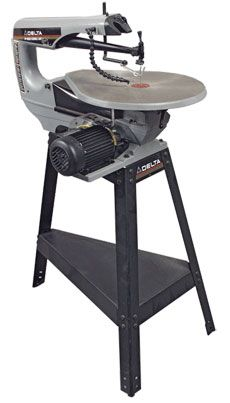 Delta - Scroll Saw 40-680 - Fine Woodworking Tool Review