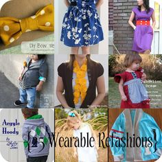 25 Wearable Refashions