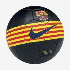 NIKE FC BARCELONA PRESTIGE SOCCER BALL SIZE 5 2014 BLACK.